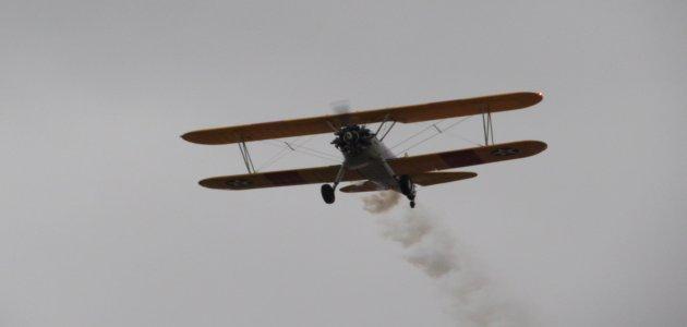 Biplane. Photo Credit: Sean Cram.